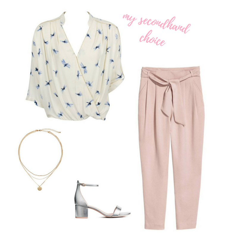 CATCH OF THE WEEK : A LIGHT BLOUSE