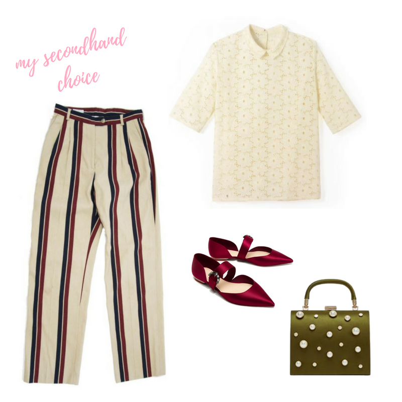 CATCH OF THE WEEK : DRIES VAN NOTEN STRIPED TROUSERS