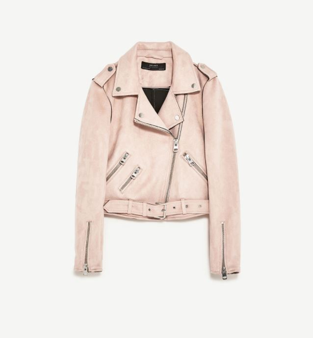 WISHLISTED : PINK BIKER JACKET