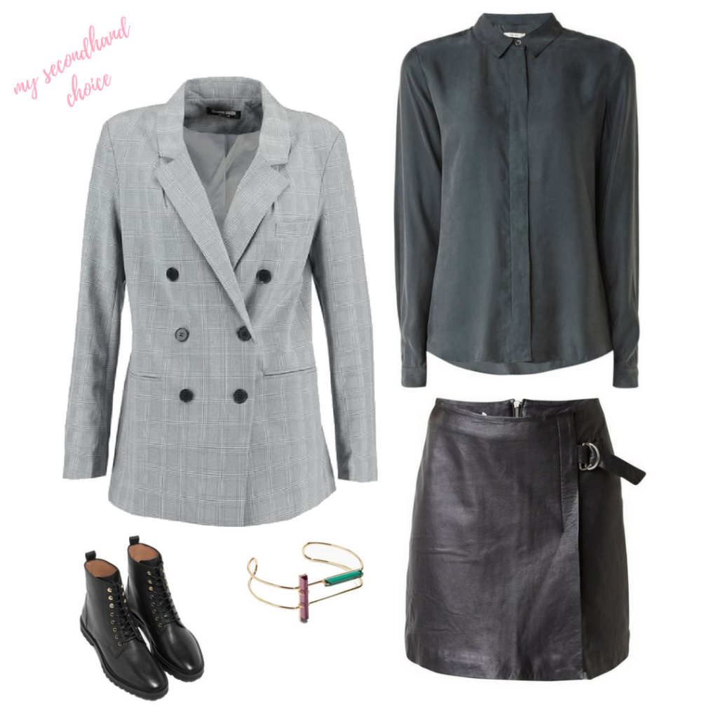 CATCH OF THE WEEK : CHECK BLAZER