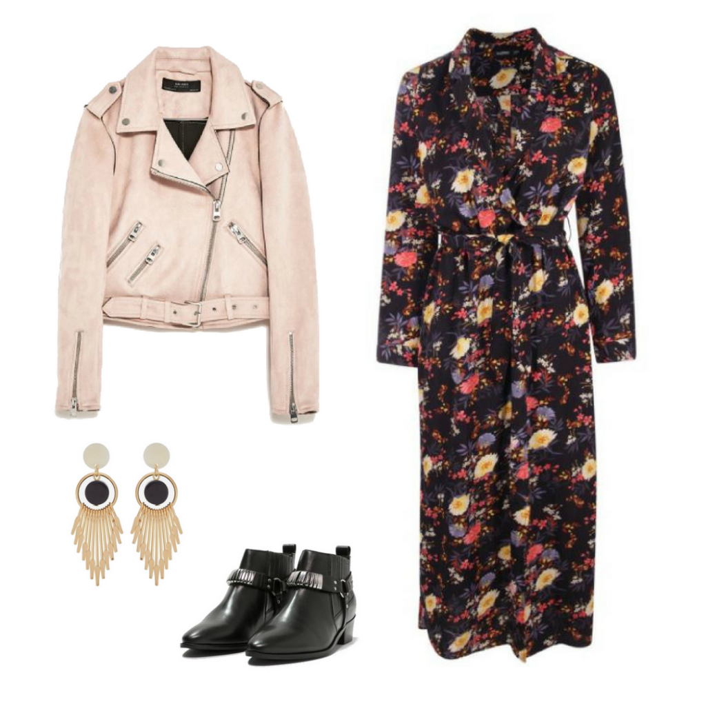 2 LOOKS FOR WEARING THAT PINK BIKER JACKET AND BUY YOURS SECONDHAND