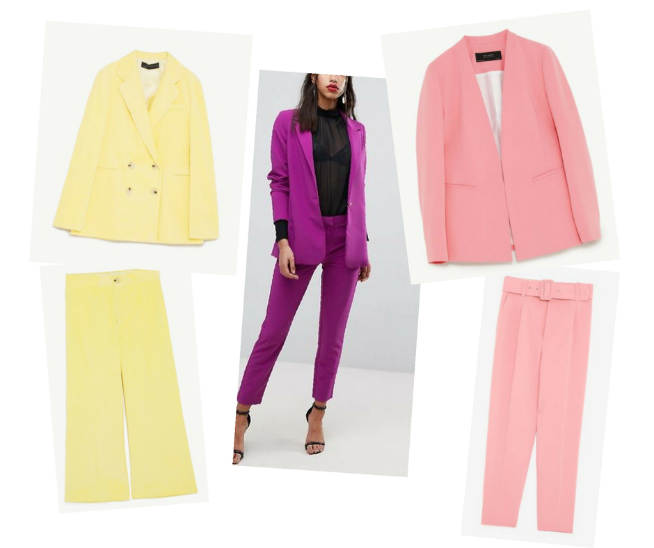 CATCH OF THE WEEK : COLOURED SUITS
