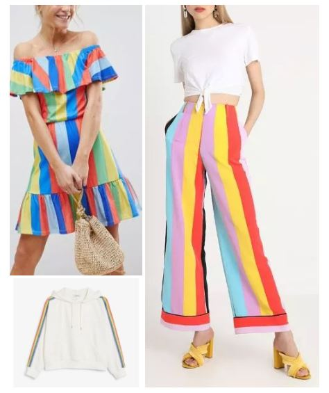 SUMMER TREND : RAINBOW COLOURS