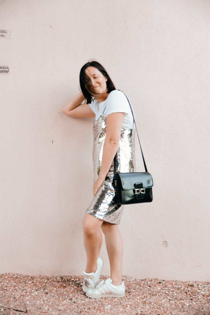 HOW TO WEAR YOUR PARTY DRESS CASUAL