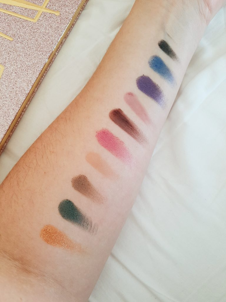 Then and Now Eyeshadow Palette – kleuren 2018