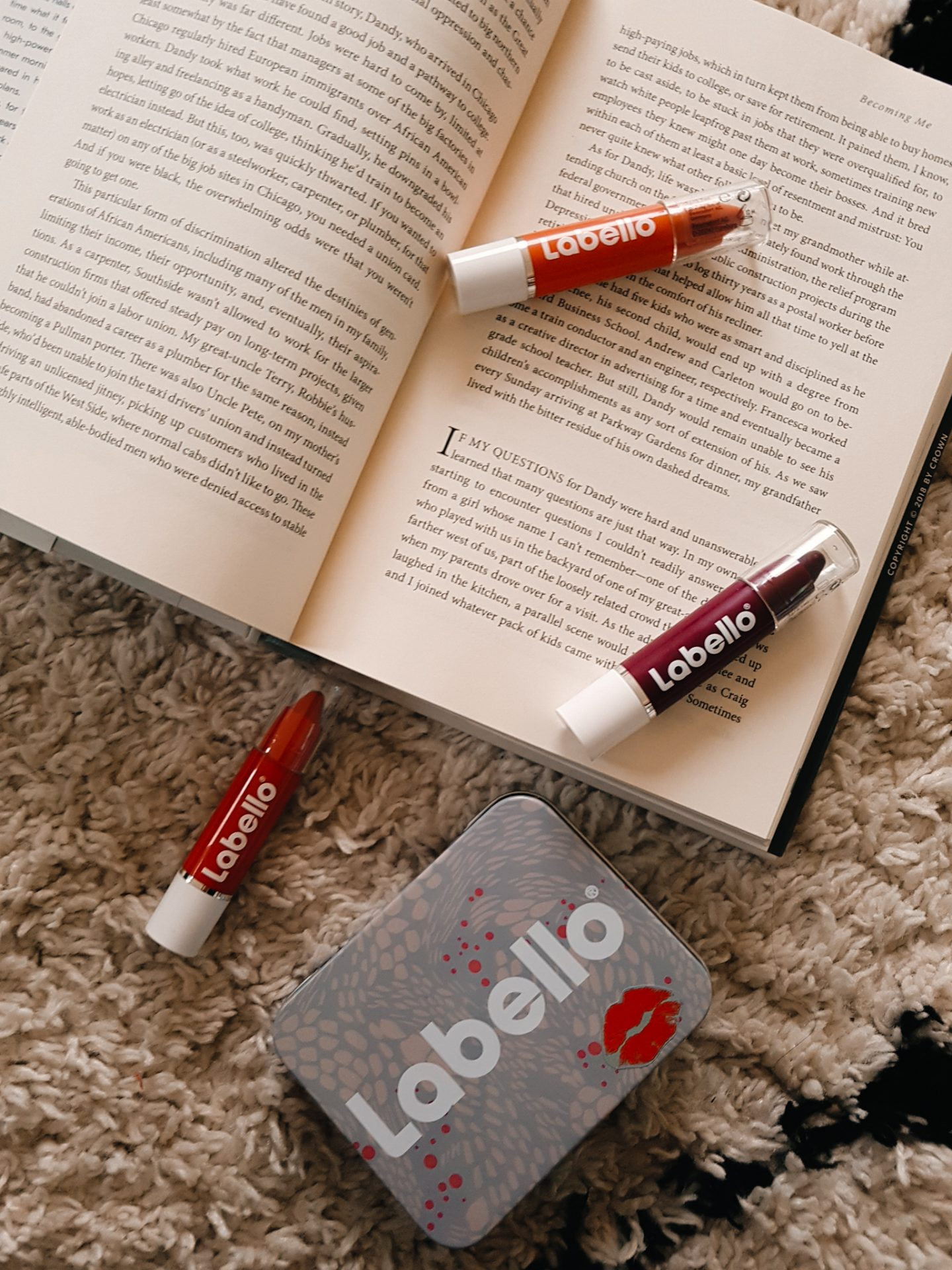 MAKE-UP REVIEW : LABELLO CRAYON LIPSTICK