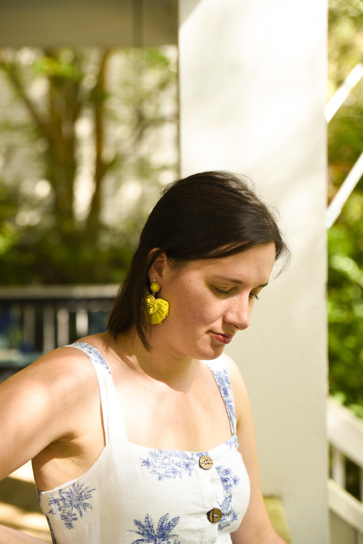 linnen jurk zomer Primark