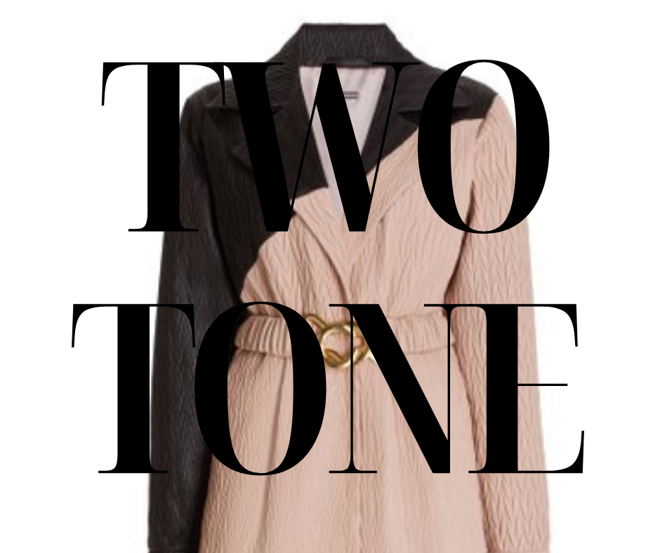 ZOMERTREND : TWO TONE
